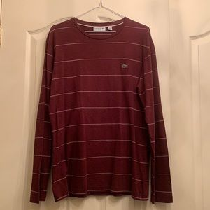 Long Sleeve Men's Lacoste T-shirt